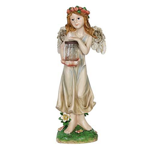 Solar Light Angel Statue in US - 9