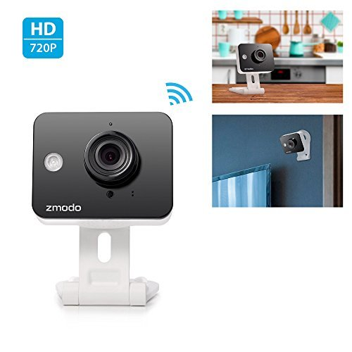 Zmodo Mini WiFi 720p HD Wireless...