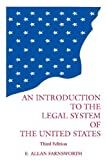 img - for Introduction to the Legal System of the United States by E. Allan Farnsworth (1999-06-28) book / textbook / text book