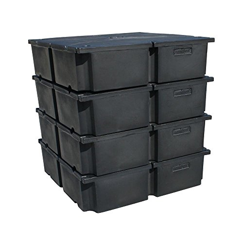 48 in. x 48 in. x 12 in. Dock System Dock Floats for Kit A ()