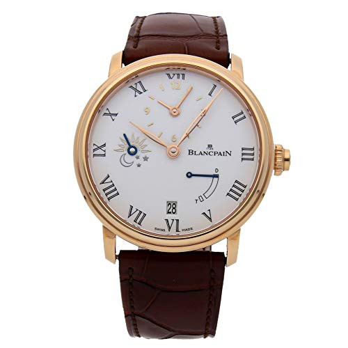 Blancpain Villeret Mechanical (Automatic) White Dial Mens Watch 6661-3631-55B (Certified Pre-Owned)