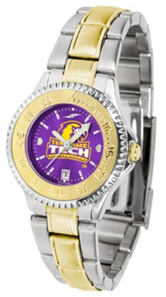 - Tennessee Tech Golden Eagles Competitor Two-Tone AnoChrome Women's Watch