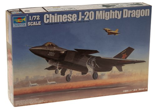 Trumpeter 1/72 Chinese J20 Fighter