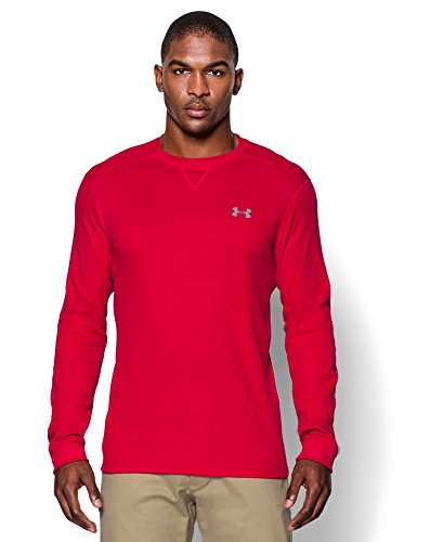 UPC 888728410758, Under Armour Men's UA Amplify Thermal Crew Medium Red