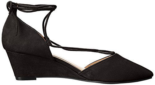 Chinese Suede Women's CL Pump Super Ghillie Laundry Black by Wedge Trissa Tqq5U