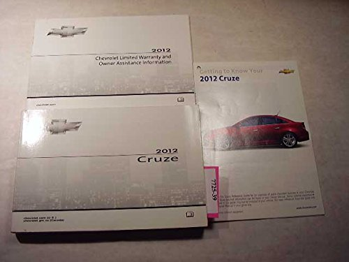 2012 Chevrolet Cruze Owners Manual (Chevy Owners Manual)