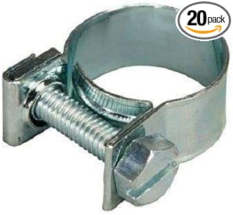 XtremeAmazing Replacemnt AAS 3//8 Fuel Injection Hose Clamps FI8 Pack of 10 9//16-5//8 Dia