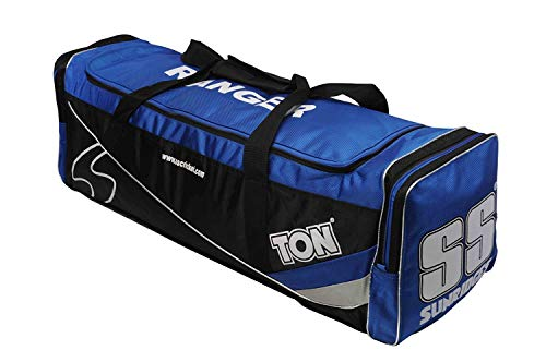 SS Cricket Ranger Premium Kit Bag ' Full Size, Blue Color (Best Selling Cricket Bats)