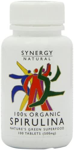 Synergy Natural Organic Spirulina 500mg 100 Tabs