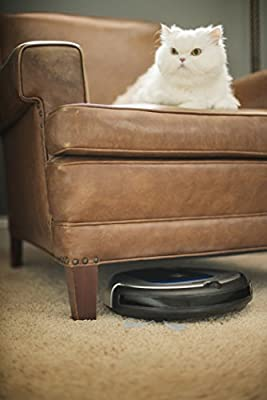 Hoover BH70700 Quest 700 Bluetooth Enabled Robot Vacuum Cleaner for Carpet and Hard Floors