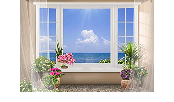 10x8ft Vinyl Beach Curtains Tropical Surfing Wave Photography Backdrop Outdoor Photo Background Props LYZY0132 for Party Decoration Birthday YouTube Videos School Photoshoot Photo Background Props