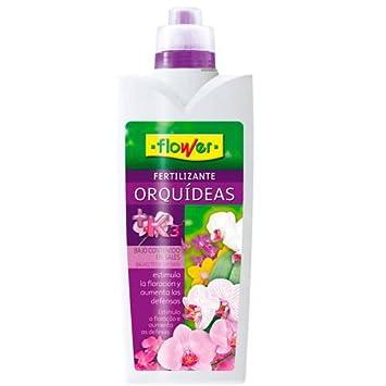 Flower 10499 10499-Abono líquido orquídeas 1000ml, No Aplica, 10.5x6.2x28.5 cm: Amazon.es: Jardín