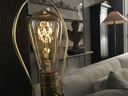 Burton Two Light - The Burton Bulb - Edison Style 5W=40W LED Dimmable Light Bulb with Flicker-Less LED Technology