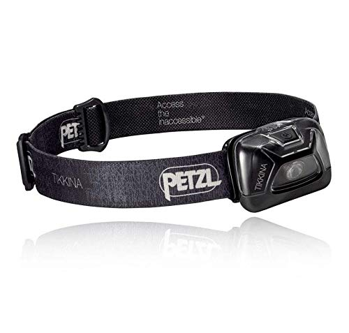 PETZL - TIKKINA Headlamp, 150 Lumens, Standard Lighting, Black