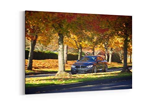 2014 Hr Springs 428I M Sport Coupe Tuning Fs - Canvas Wall Art Gallery Wrapped 40