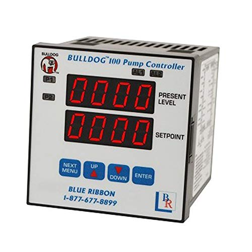 Duplex Pump Controller - Blue Ribbon Model BD-100-10 Bulldog Duplex Pump Controller