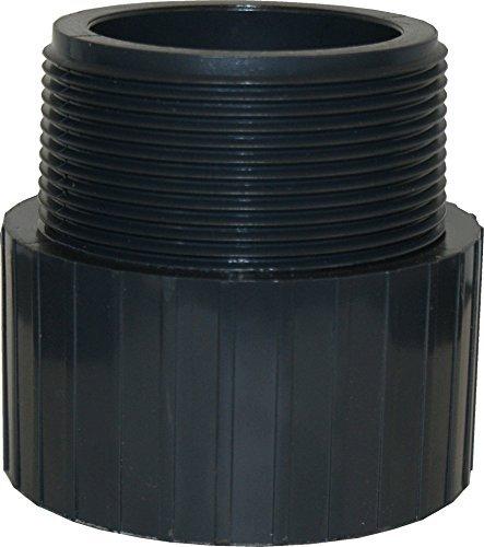 ERA Sch 80 PVC 3 Inch Male Adapter, Socket X NPT Male Thread