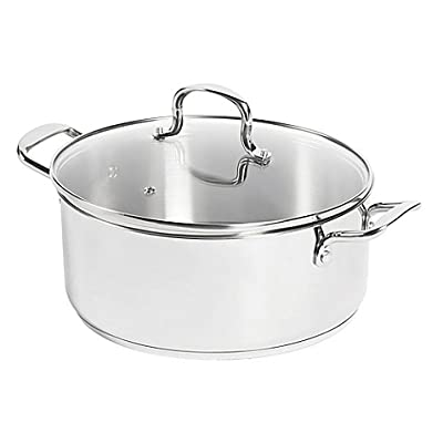 SALT 7.5 qt. Stainless Steel Dutch Oven