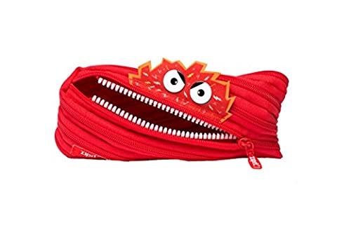 ZIPIT Talking Monstar Pencil Case, Red (Movie Cool Dry Place)