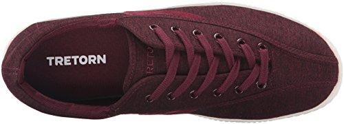 Tretorn Mens Nylite4 Plus Mode Sneaker Wijn / Wijn
