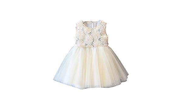 f6b67e478b1f Amazon.com  Feitong Kid Girls Princess Rose Sequined Lace Tutu ...