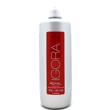 f45d3e077f Amazon.com : Schwarzkopf Professional Igora Royal Developer 6% / 20 Volume  33.8 oz : Hair Coloring Products : Beauty