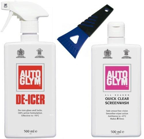 Auto Glym De-Icer , Screen Wash & Ice Scraper AutoGlym AGWK