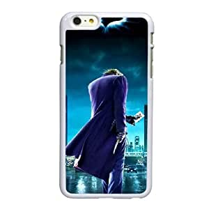 Funda iPhone 6 6S Plus de 5.5 pulgadas del teléfono celular funda blanca batman Joker B5H0HL