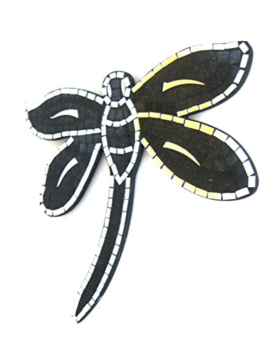 Dragonfly Wall Hanging Decor Dragon Fly Mosaic Mirror Wall Hanging Mirror Celestial Sun Design- Handmade- OMA BRAND Review