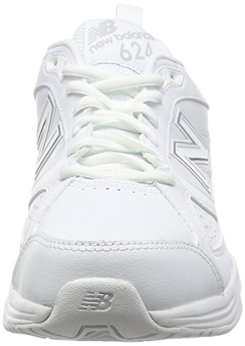 Balance Blanco Hombre Zapatillas New 100 MX624AW4 White d6ZxgwWIP