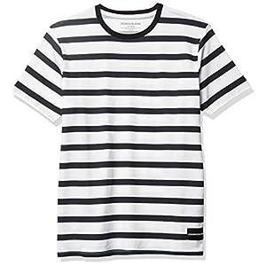 Best Epic Trends 41Nd3D9i0OL._SS300_ Calvin Klein Boys' Wide Stripe Tee Shirt