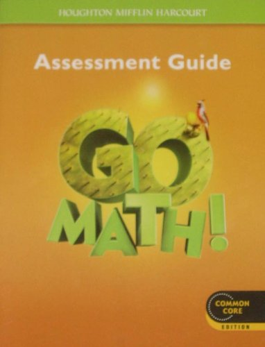 Go Math!: Assessment Guide Grade 5
