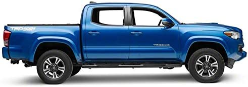 Duratrek 5 Side Step Bars in Black Oval Bent End Fitted and Compatible with Toyota Tacoma Double Cab 2005-2020