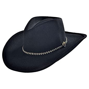 Stetson Rawhide Buffalo Felt Western Hat at Amazon Men s Clothing store  132d2bf5fbb