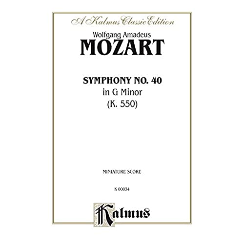 an analysis of mozarts symphony nr 40 in g minor Charles hazlewood explores the intricacies of mozart's symphony no 40 in g minor (k550.