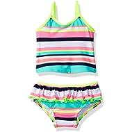 Carter's Baby Girls' Infant Striped Tankini Swimsuit Set