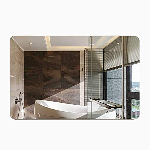 XIAODONG Espejo Dormitorio Espejo baño Montaje en Pared Espejo para Canal de Entrada HD Espejo 27 * 20 Pulgadas