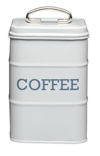 Kitchen Craft LNCOFFEEGRY Food Storage Container, One Size, - Canister Vintage Coffee