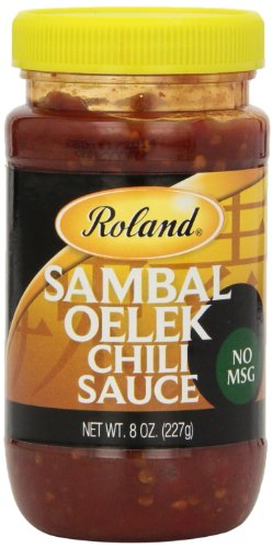 Roland Chili Sauce, Sambal Oelek, 8 Ounce (Pack of 12)