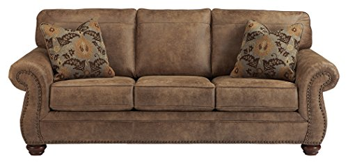 Ashley Furniture Signature Design - Larkinhurst Sofa - Contemporary Style Couch - Earth by Signature Design by Ashley