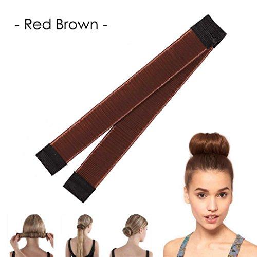 OvedcRay Fashion Women Twist Hair Bun Maker Donut Styling Braid Holder Quick & Fast Pin