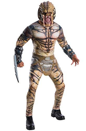 Authentic Predator Costume (Rubie's Men's Deluxe Predator Adult Costume, as Shown,)