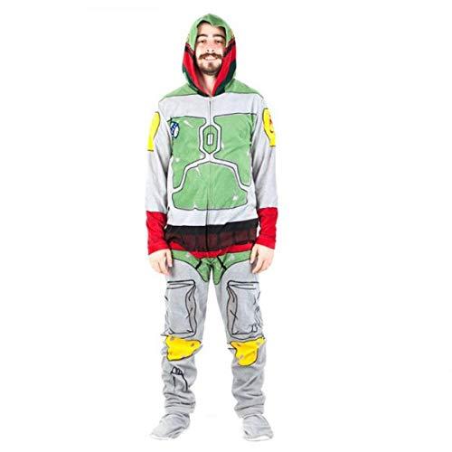 Star Wars Boba Fett Mens Union Suit (Medium)]()