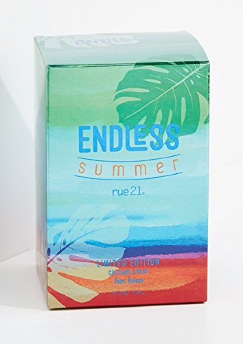 Rue21 Endless Summer 2017 Limited Editon Cologne Spray For Him 1.7 Ounce New In Box (Rue 21 Carbon)