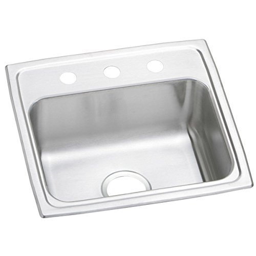 Elkay PSR19183 Celebrity Single Bowl Drop-in Stainless Steel Sink - Pacemaker Commercial Sink