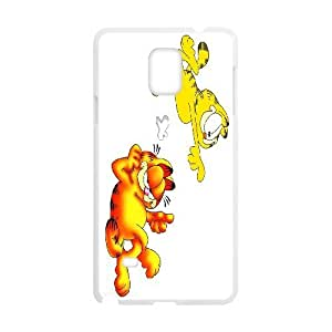 Fashionable Creative Garfield Cover case For Samsung Galaxy Note 4 N9100 RL6X92667