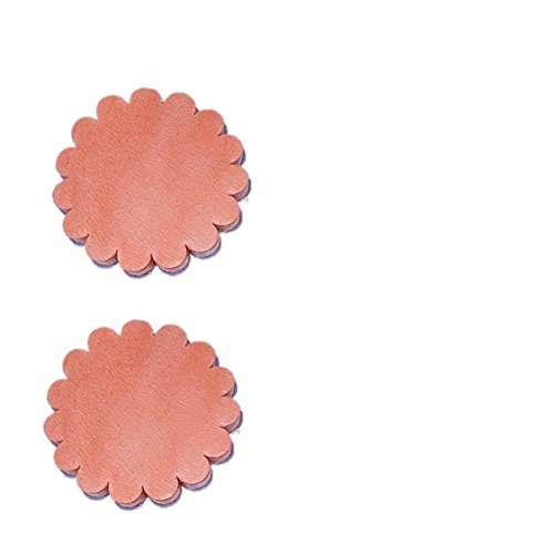 Leather Rosette (Set of 2 pcs Leather Rosette Conchos 1 1/2″)