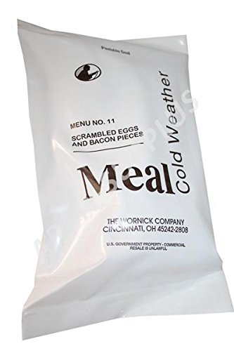 Meal Cold Weather Mcw 2019 Foreign Mre Meal Ready To Eat Irp Fsr Imp Epa Ration Menu 3 Chili Mac W  Beef