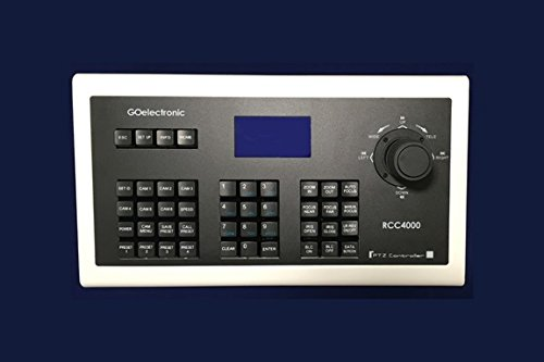 - RCC4000 Joystick Controller for Sony and Go Electronic VISCA Pan/Tilt/Zoom EVI, SRG, BRC, GOHD Cameras