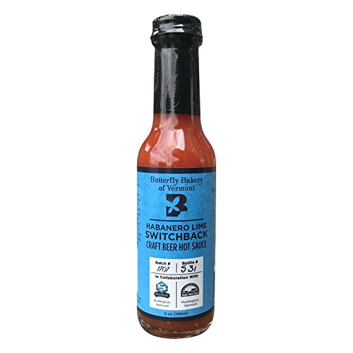 Habanero Lime Switchback Hot Sauce, 5 oz